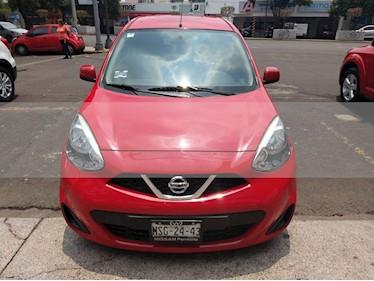 Foto venta Auto usado Nissan March Advance (2014) color Rojo precio $125,000