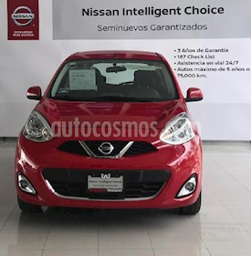 Foto venta Auto Seminuevo Nissan March Advance (2018) color Rojo precio $198,000
