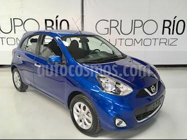 Foto venta Auto usado Nissan March Advance (2016) color Azul precio $139,000