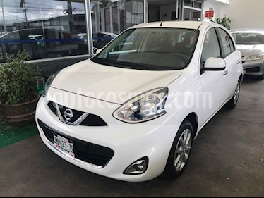 Foto venta Auto usado Nissan March Advance (2016) color Blanco precio $139,000