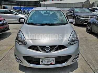 Nissan March Advance usado (2017) color Plata precio $147,300
