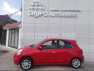 Foto venta Auto usado Nissan March Advance (2017) color Rojo precio $150,000