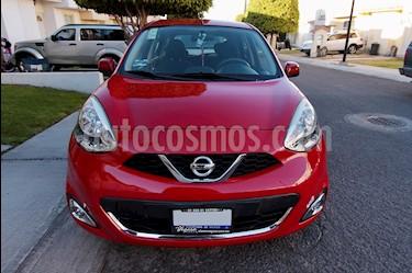 Foto Nissan March Advance usado (2014) color Rojo precio $132,999