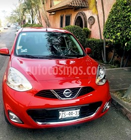 Foto Nissan March Advance usado (2018) color Rojo precio $165,000
