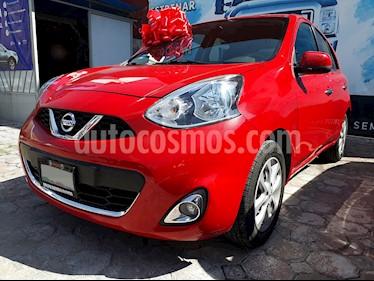 Foto venta Auto usado Nissan March Advance (2015) color Rojo precio $139,000