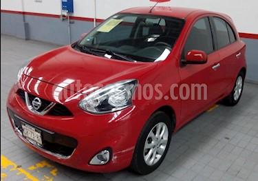 Foto venta Auto Seminuevo Nissan March Advance (2015) color Rojo precio $132,000
