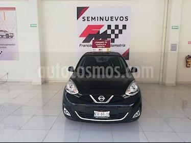 Foto venta Auto usado Nissan March Advance (2018) color Negro precio $165,000