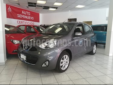 Foto venta Auto usado Nissan March Advance (2018) color Gris Oxford precio $189,000