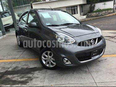 Foto venta Auto usado Nissan March Advance (2018) color Gris Oxford precio $170,000