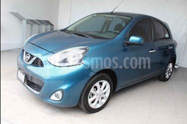 Nissan March Advance usado (2016) color Azul precio $149,000