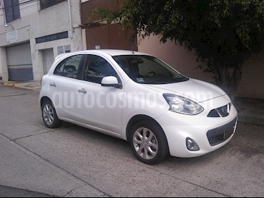 Nissan March Advance usado (2014) color Blanco precio $120,000