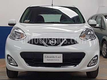 Nissan March Advance Media Tech usado (2015) color Blanco precio $570.000