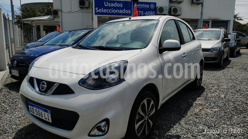 Nissan March Advance usado (2019) color Blanco precio $1.170.000