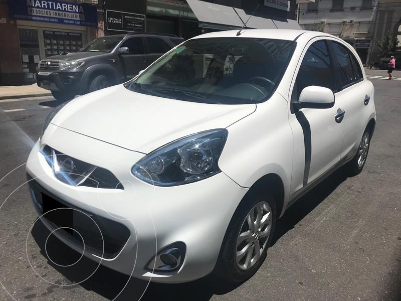 Nissan March Advance Media Tech usado (2015) color Blanco precio $1.049.000