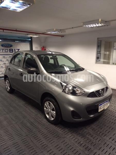 Nissan March Active usado (2017) color Gris precio $730.000