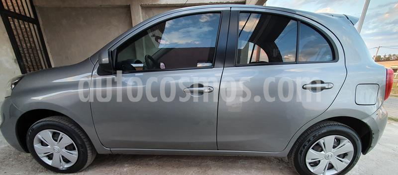 Nissan March Sense usado (2014) color Gris Oxford precio $540.000