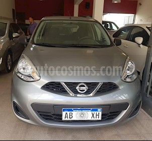 Nissan March Active usado (2017) color Gris Claro precio $515.000
