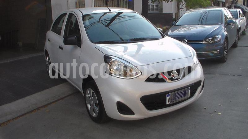 Nissan March Active usado (2018) color Blanco precio $849.900