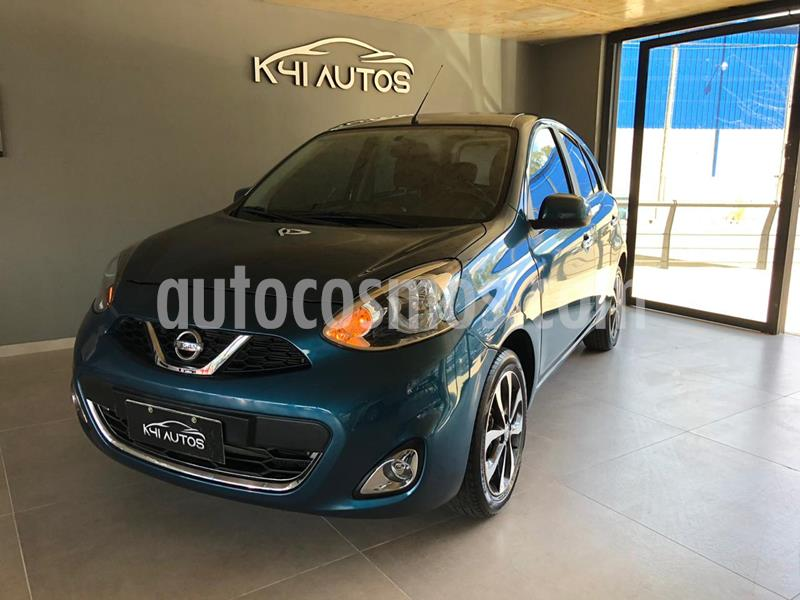 Nissan March Advance Media Tech Aut usado (2017) color Azul precio $1.100.000