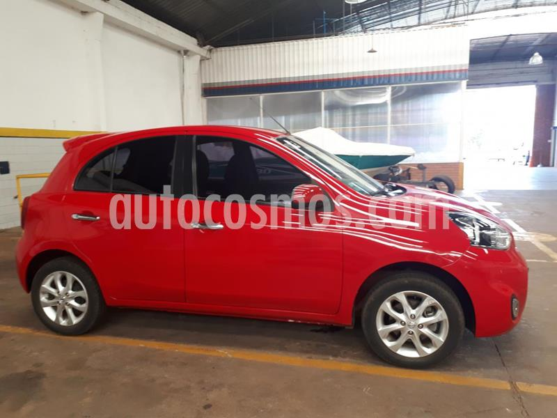Nissan March Advance Media Tech usado (2015) color Rojo precio $1.100.000