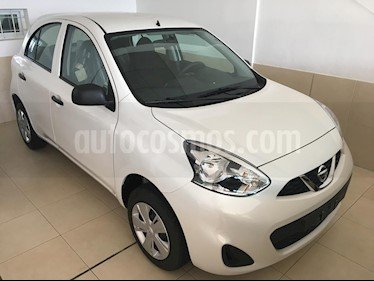 Nissan March Active usado (2017) color Blanco precio $720.000