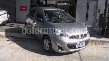 Nissan March Active usado (2017) color Gris precio $574.900