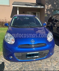 Nissan March Acenta usado (2014) color Real Blue precio $410.000