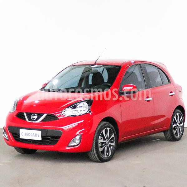 Nissan March Advance Media Tech Aut usado (2018) color Rojo precio $990.000