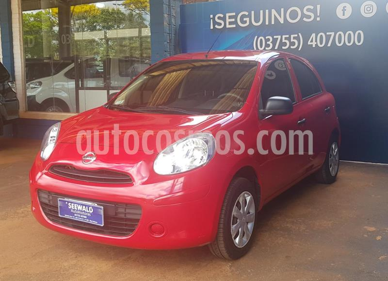 Nissan March 1.6 ACTIVE usado (2015) color Rojo precio $880.000