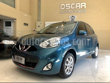 Nissan March Advance Media Tech usado (2015) color Azul precio $585.000