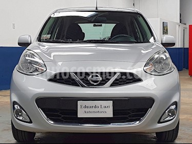 Nissan March Advance Media Tech usado (2014) color Plata precio $438.000