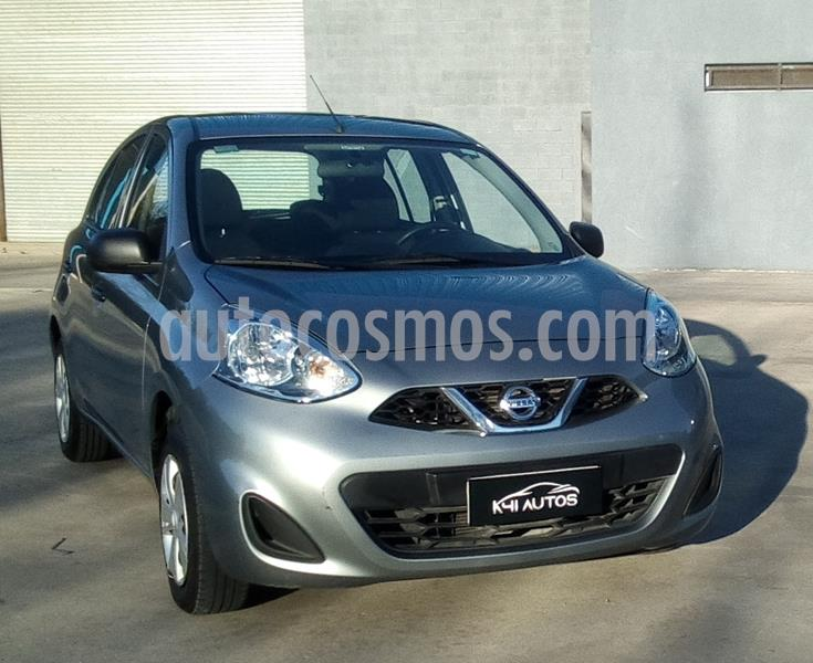 Nissan March Active usado (2018) color Gris Plata  precio u$s5.154