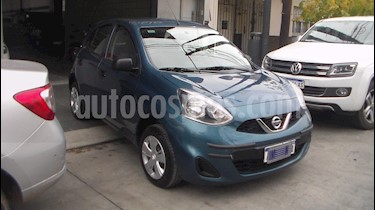 Nissan March Advance Media Tech usado (2017) color Azul precio $574.900
