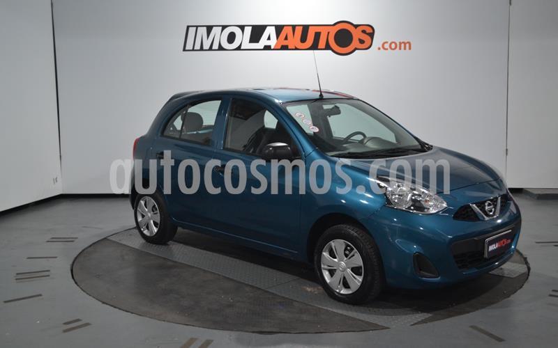 Nissan March Active usado (2018) color Azul precio $760.000