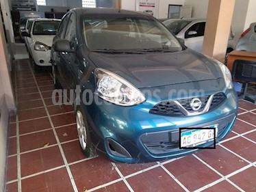 Nissan March Active usado (2018) color Azul Celeste precio $610.000