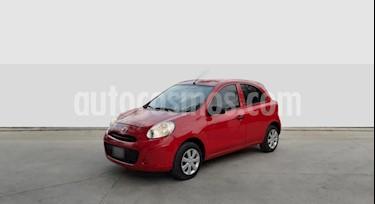 Nissan March Active usado (2016) color Rojo precio $590.000