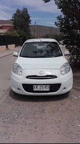 Nissan March 1.6L Advance usado (2013) color Blanco precio $4.000.000