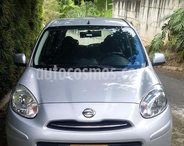 Nissan March Advance usado (2013) color Gris precio $23.800.000
