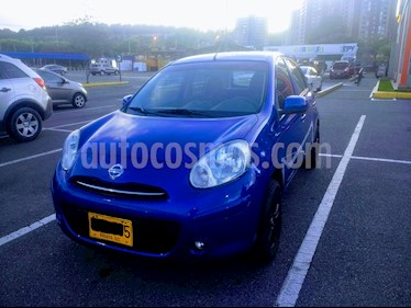 Nissan March Connect usado (2014) color Azul precio $23.000.000