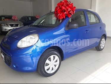 Foto venta Auto Seminuevo Nissan March Drive (2013) color Azul precio $104,900