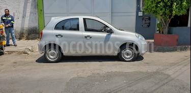 Nissan March Drive usado (2012) color Plata precio $79,000