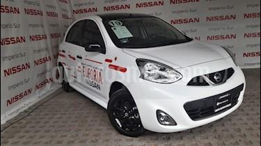 Foto venta Auto usado Nissan March Exclusive Aut (2019) color Blanco precio $223,000
