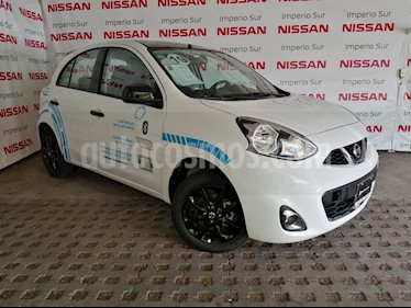 Foto venta Auto usado Nissan March Exclusive Aut (2018) color Blanco precio $223,000