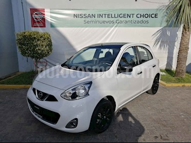 Foto venta Auto usado Nissan March Exclusive Aut (2019) color Blanco precio $210,000