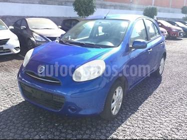 Foto venta Auto usado Nissan March MARCH 1.6 ADVANCE AT 5P (2012) color Azul precio $122,000