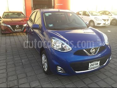 Foto Nissan March MARCH 1.6 ADVANCE MT 5P usado (2018) color Azul precio $180,000