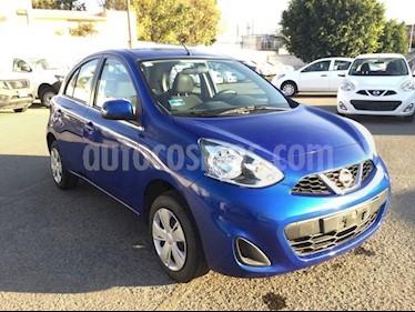 Foto venta Auto usado Nissan March MARCH 1.6 SENSE MT 5P (2015) color Azul Ocaso precio $130,000