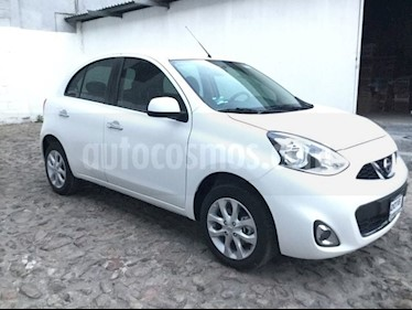 Foto venta Auto usado Nissan March MARCH ADVANCE NAVI TA (2018) color Blanco precio $215,599