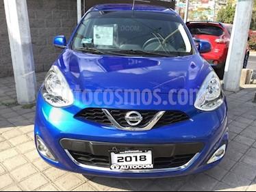 Foto venta Auto Seminuevo Nissan March MARCH ADVANCE TA (2018) color Azul precio $180,000