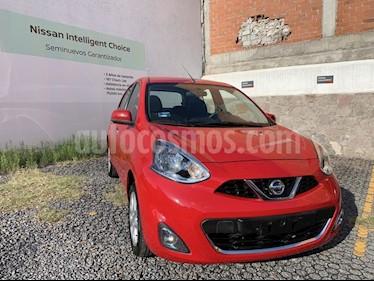 Foto venta Auto usado Nissan March MARCH ADVANCE TM (2017) color Rojo precio $165,000